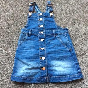 Crewcuts overall dress
